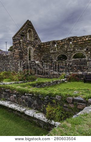Ruins Of The Nunnery On The Island Of Iona