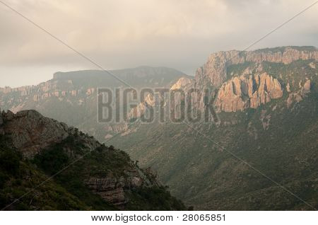 juniper canyon in the Chisos Mountains on Lost Mine Trail