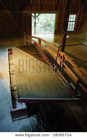 Reed Gold Mine State Historic Site ten-stamp mill