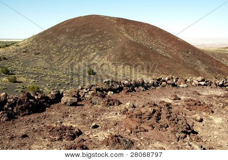 Doney Mountain extinct cinder cone volcano