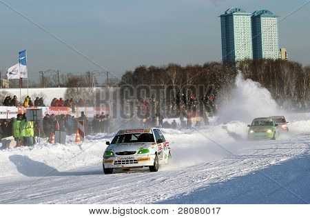 MOSCOW, RUSSIA - FEBRUARY 23: 21st traditional
