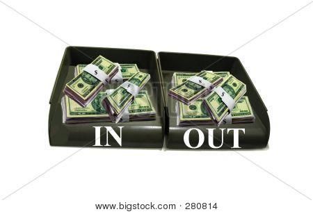 Money In Trays