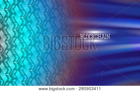 Blockchain Technology, Chain Agreement Business Concept Database Cryptocurrency. Data Network Crypto