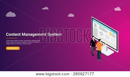 Website Design Page Template Landing Ui Ux Cms Content Management System Admin Template To Manage We