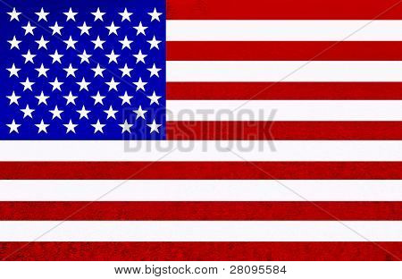 united states of america flag illustration, computer generated