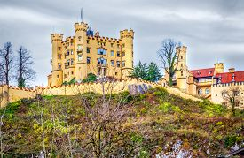 Hohenschwangau castle, Schwangau, South Bavaria, Germany