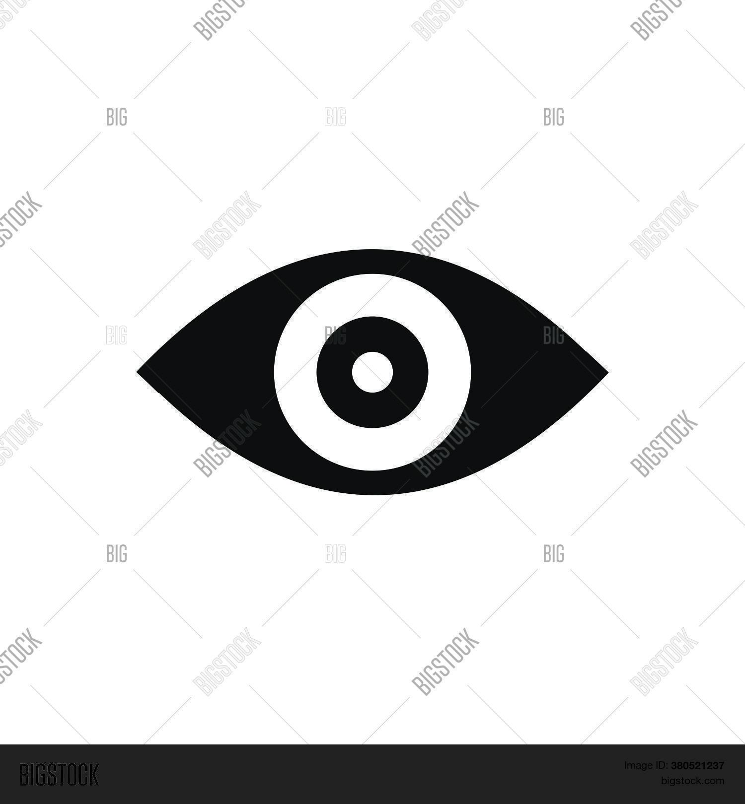 Human Eye Icon Vector Vector Photo Free Trial Bigstock Black, gray, green, dark blue. human eye icon vector vector photo