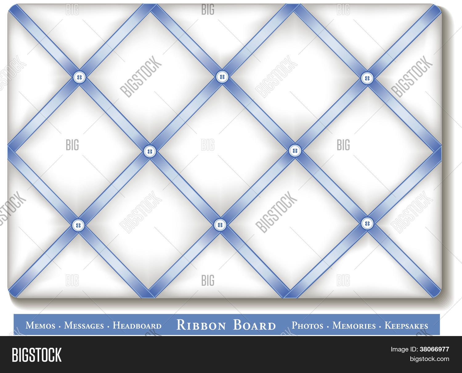 Ribbon Bulletin Board Vector Photo Free Trial Bigstock