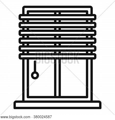 Window Installation Icon. Outline Window Installation Vector Icon For Web Design Isolated On White B