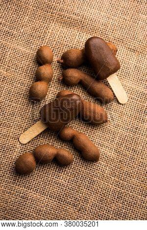 Theimliortamarind Lollipopis An Indian Stick Candy With A Desi Twist
