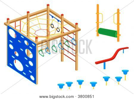 Playground Equipment | Set 4