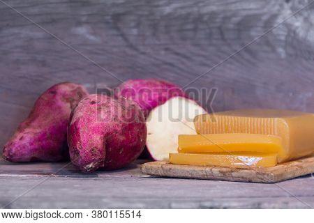 Sweet Potato Or Boniato Traditional Argentine Gastronomy