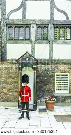 June 2020. London. Queens Guard At The Tower Of London A Unesco World Heritage Site, London, England