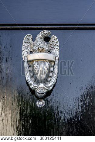 June 2020. London. Door Knocker In Knightsbridge, London, England Uk Europe