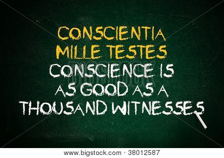 Conscience Is Witness