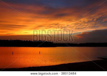 Classic Northwoods Sunset