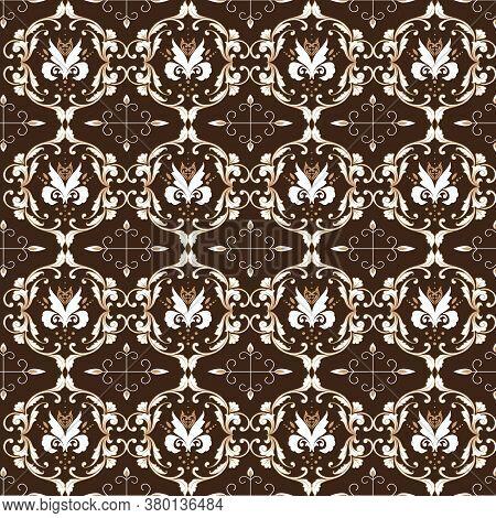 Traditional Art Work Solo Batik With Unique Motif And Black Color Design.