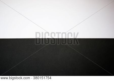 Abstract Black And White Background. Half Black, Half White Background, Wallpaper