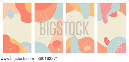 Abstract Background Design Templates For Social Media Posts And Instagram Stories, Cards, Posters