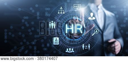 Hr Human Resources Recruitment Team Staff Management Business Concept.