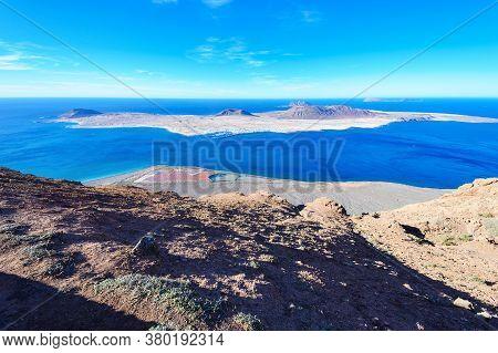 View Of Mirador Del Rio, Lanzarote, Canary Islands, Spain