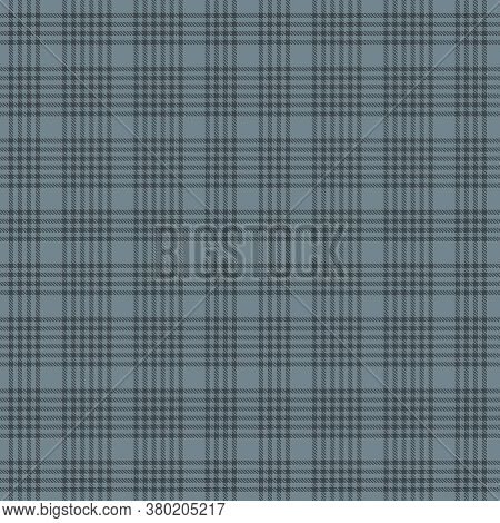 Grey Plaid Tartan Checkered Seamless Pattern