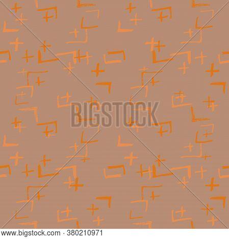 Tie Dye Japanese Geometric Organic Seamless Pattern. Boho Tie Dye Ethno Batik. Geo Wabi Sabi Minimal