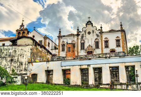 Convent Of Santo Antonio In Rio De Janeiro, Brazil