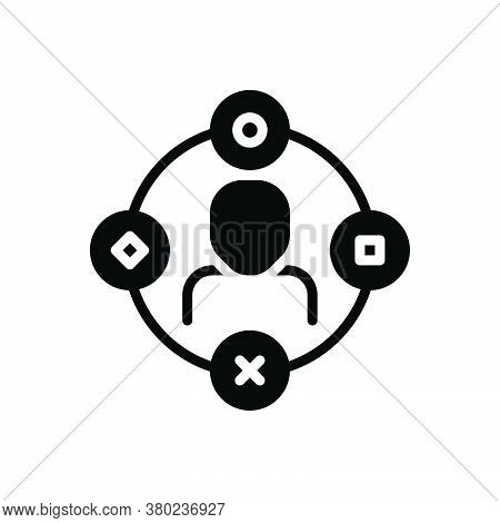 Black Solid Icon For Ambient-user-experience Comprehensive Extensive Pervasive Vast Interface Connec