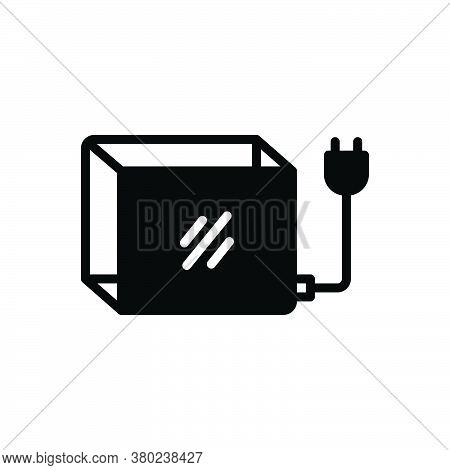 Black Solid Icon For Lightbox Voltage Resistance Counteraction Dynamism Forcefulness Omnipotence Dan