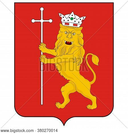 Coat Of Arms Of Vladimir Of Russia