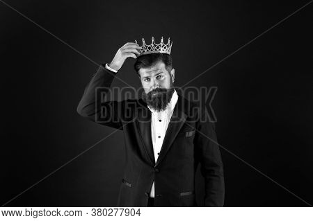 Best Man On Earth. Achieving Business Success. Royal And Luxury. Handsome Worker. Glory Seeking Man.