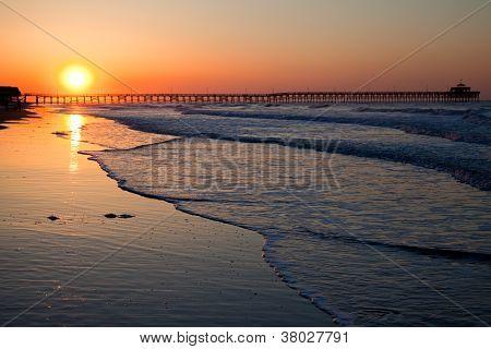 Sonnenaufgang über Myrte