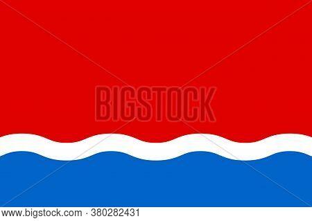 Flag Of Amur Oblast In Russian Federation