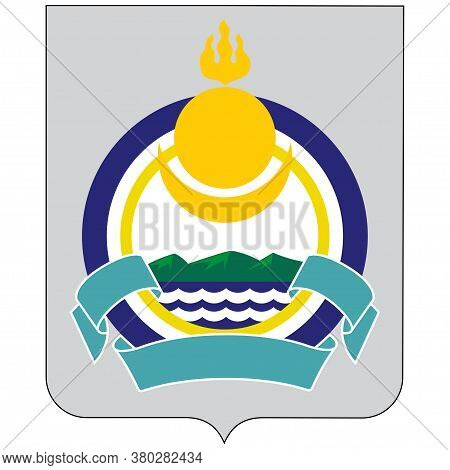 Coat Of Arms Of Republic Of Buryatia In Russian Federation