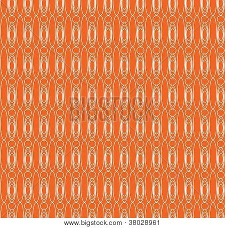 Seamless simple orange pattern