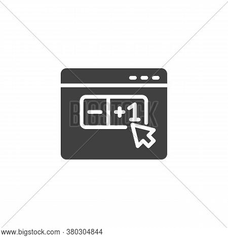E-commerce, Limited Quantity Vector Icon. Filled Flat Sign For Mobile Concept And Web Design. Shoppi