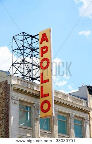 Apollo Theater Sign