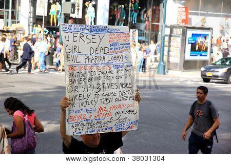 Anti Pharmaceutical Protest