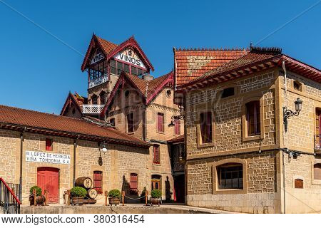 Haro, Spain - August 6, 2020: Vina Tondonia - Lopez Heredia Winery