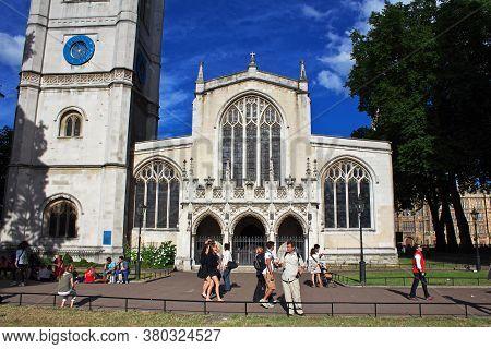 London / Uk- 28 Jul 2013: Westminster Abbey In London City, England