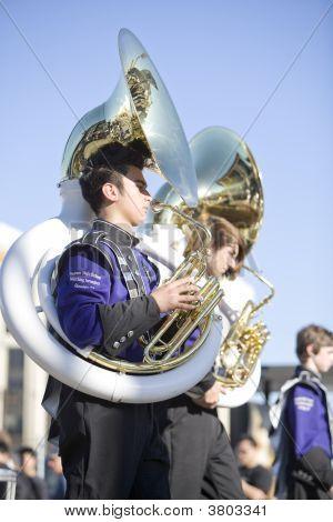 Chinese New Year Parade Band Members