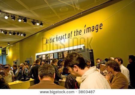 Nikon Camera Equipment People Photokina 2008
