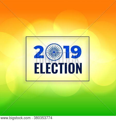General Election Background Poster Vector Design Illustration