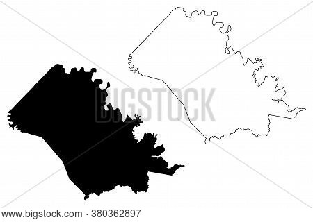 Bath County, Kentucky (u.s. County, United States Of America, Usa, U.s., Us) Map Vector Illustration