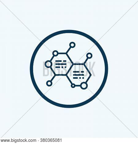 Physics Icon Isolated On White Background. Physics Icon Simple Sign. Physics Icon Trendy And Modern