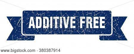 Additive Free Grunge Vintage Retro Band. Additive Free Ribbon