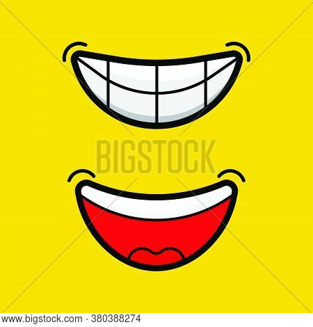 Happy Expressions Smile And Laugh, Smile And Laugh Every Day, Face Emoji Emotions Symbols Lips Laugh