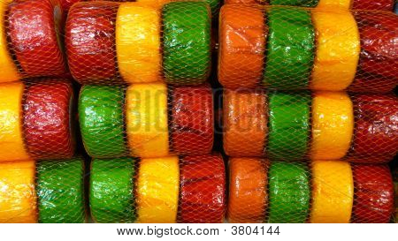 Colourful Cheeses