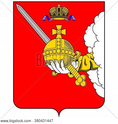 Coat Of Arms Of Vologda Oblast In Russian Federation